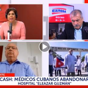 Jefe de Brigada Médica Cubana contratada para atención de COVID 19 en Perú: Reclamamos por la falta de Equipos de protección personal para médicos cubanos y tambiénperuanos