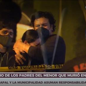 Niño de dos años que falleció tras caer a pozo en Lima Cercado: Sedapal y Municipalidad de Lima sepronuncian