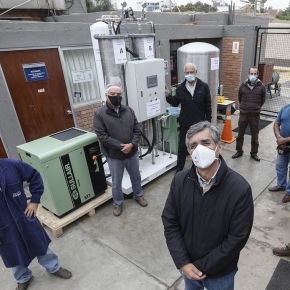 Oxígeno medicinal de bajo costo y rápida implementación desarrollan ingenieros peruanos con planta modular de fabricaciónlocal