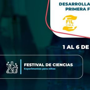 Concytec divulga ciencia y tecnología por segundo año consecutivo en la Feria Internacional del Libro de Lima2020