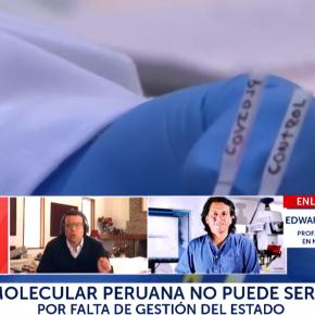 Prueba molecular COVID 19 hecha en Perú podría ser validada en otro país si la siguiente fase no seconcreta
