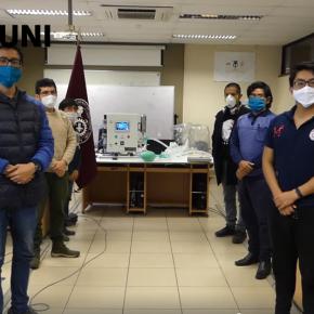Ventilatón de la Universidad de Ingeniería de Perú por recaudación de fondos para ventiladores mecánicos gratis parahospitales
