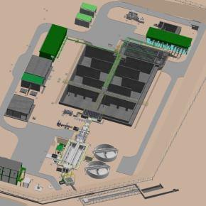 Agrokasa inició construcción de moderna planta de tratamiento de aguas residuales para el riego de sus cultivos enIca