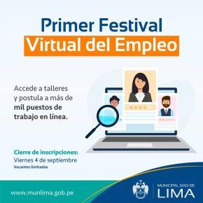 Oportunidades de empleo, concurso y talleres gratuitos Mujer Emprende: A través de redes socialesMML