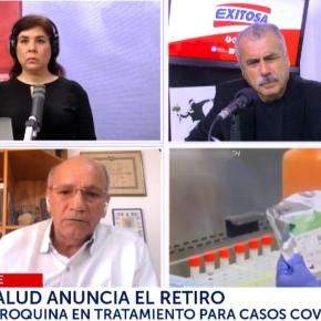 Tomar en cuenta evolución de los casos COVID 19 propios del país para prescribir medicamentos: Dr. Fernández, Laboratorios Farvet dePerú