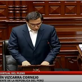 Vacancia de presidente peruano Martín Vizcarra es rechazada: Entre su afirmación que era su voz (alteración de pruebas por contratación y reuniones en audio) y congresistas que dicen que responderá a la justicia por sus delitos culminado sumandato