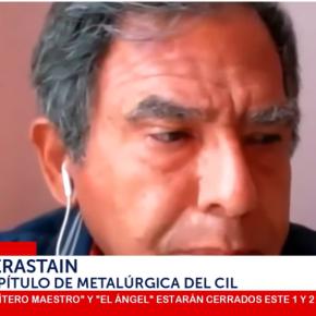 Ingeniero Berastaín que logró la variación al 93% de pureza del oxígeno para atender a más pacientes en pandemia COVID 19, es suspendido por el Colegio de Ingenieros del Perú por declarar a la prensa en nombre de la institución a pesar que él ha presentado las pruebas que esfalso