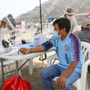Municipalidad de Lima realizó las primeras pruebas de antígeno con resultados en 15 minutos para detección  de COVID19