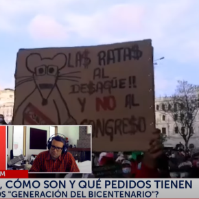 ¿Cuáles son las demandas de los jóvenes manifestantes de Marcha Noviembre 14 contra políticos enLima-Perú?