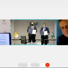 CAF y universidades católicas de Bolivia, Chile y Perú trabajarán en proyectos para fortalecer sus zonasfronterizas