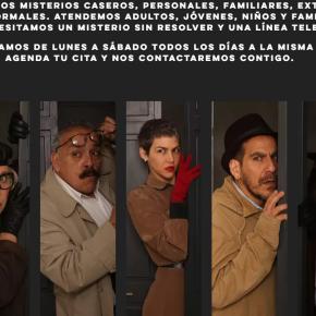 """La """"Central de misterios cotidianos"""" experiencia  de teatro vivencial personalizada para cada participante: Primera temporada gratuita gracias a la Embajada deCanadá"""