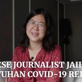 EE.UU. insta a China a liberar a periodista Zhang Zhan que cubrió desde el inicio sobre el COVID 19 en Wuhan y por informar la detención de periodistasindependientes