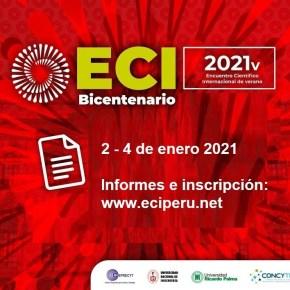 Encuentro Científico Internacional Bicentenario del Perú Temporada de Verano (2 – 4 de enero 2021): programa y libro deresúmenes
