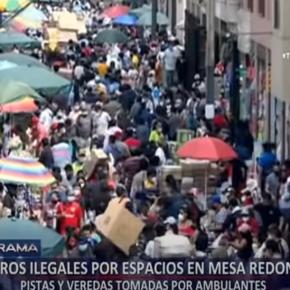 Más sectores operan en Perú por reactivación económica con los centros comerciales y transporte público atiborrado de gente ante incremento de casos COVID 19 sin compra devacunas