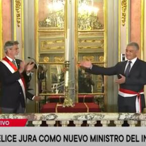 Segundo ministro del interior de Perú en dos semanas dentro del gobierno de Sagasti y funcionarios ejecutivos también militantes del partido Morado generan suspicacias para elecciones transparentes2021