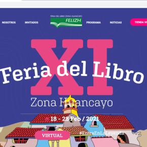 """""""Entra en la leyenda / Entra en la FELIZH"""": Feria del Libro Zona Huancayo 2021, del 18 al 28 de febrero con Mario Vargas Llosa como invitado dehonor"""
