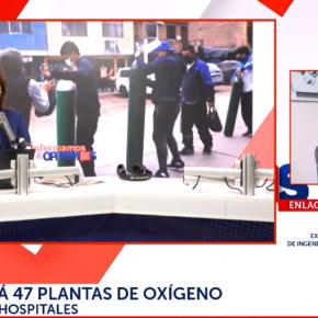Universidad Nacional de Ingeniería del Perú fabricará 47 plantas de oxígeno para abastecer hospitales en Perú por desborde del insumo por COVID 19 ante desidia de las autoridades de gobierno trasgobierno