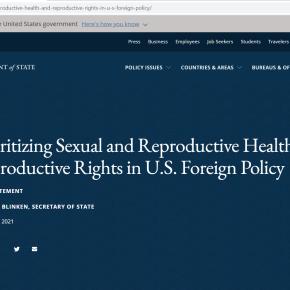 Administración Biden-Harris EE.UU. en su política exterior y seguridad nacional: prioridad de la salud sexual, reproductiva y servicios de salud, mientras obispos católicos de EE.UU. exhortan a rechazar el aborto por sus declaraciones sobre fallo Roe vs. Wade que legalizó el aborto en1973