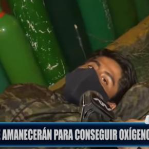 Grito de muerte en Perú: la gente sigue muriendo por falta de oxígeno en pandemia COVID 19. Exceso de muertes, Colas de oxígeno enormes día a día, Hospitales colapsados, Tráfico de oxígeno y Plantas de oxígeno oxidadas a 3 meses de gobierno de Sagasti y herencia deVizcarra