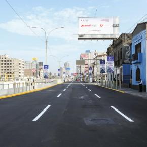 Nuevo tramo de la Av. Paseo de la República demandó una inversión de casi 5 millones de soles ejecutada por la empresa municipal de Lima,Emape