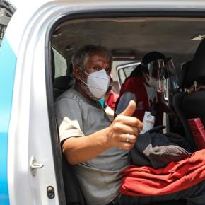Primera operación interdistrital 2021 de rescate de personas en situación de calle: Programa Volver a Casa de la Municipalidad de Lima en coordinación con la Municipalidad de San Martín dePorres