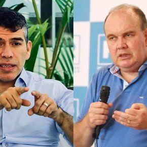 Candidatos a la presidencia de Perú 2021: Exposición de propuestas de López Aliaga y Guzmán a gremios empresariales Adex, CCL y PerúCámaras