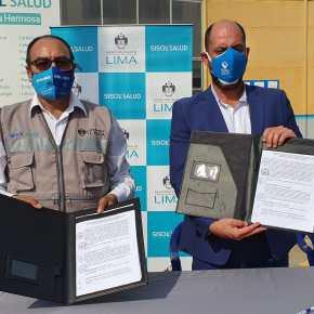 Sisol Salud de la MML y la Municipalidad de Punta Hermosa firman acuerdo para implementar planta deoxígeno