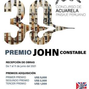 """Tradicional Concurso de Acuarela """"Paisaje Peruano. Premio John Constable""""del Británico Cultural recibirá obras 07 al 11 dejunio"""