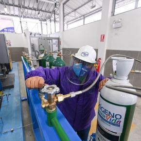 ¿Cómo recargar oxígeno de forma gratuita en las plantas de Sisol Salud San Juan de Lurigancho y elRímac?