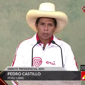 Candidato a la presidencia de Perú, Pedro Castillo confirmó su plan al estilo Venezuela con nueva Constitución y con un partido con vínculos corruptos y terroristas: Último debate Elecciones Perú2021