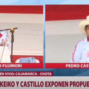 Debate en Chota 1 de mayo 2021: Keiko Fujimori vs. Pedro Castillo. Apuntes: ¿Quién hace propuestasviables?