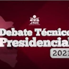 Falta de gestión y chismes vs. Gestión y Cambio responsable: Debate Equipo Técnico Presidencial rumbo a Junio 6 Elecciones Perú2021