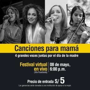 Homenaje a mamá en la víspera del día central: Festival virtual de cuatro artistas peruanas con entradas a 5 soles para donación a ShipibasMuralistas