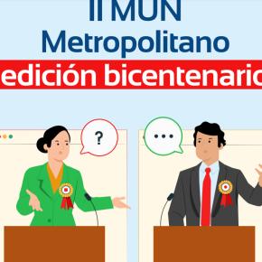 Estudiantes podrán participar en simulaciones de los debates de la ONU a través del II MUNMetropolitano