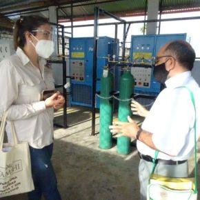 La nueva planta de oxígeno en Loreto de 2,400 balones mensuales para distribución gratuita es realidad en alianza con la Iglesia Católica, donantes solidarios yTamshi