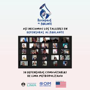 Para prevenir la violencia contra la mujer Defensoras al parlante: Mujeres de Lima Metropolitana lanzan Programaradial