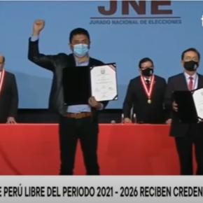 Perú S.O.S: Procesado por terrorismo Guillermo Bermejo de Perú Libre es un nuevo congresista que dictará leyes junto con héroesantiterroristas