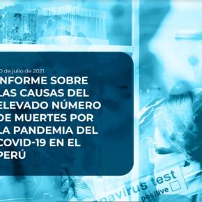 Causas del elevado número de muertes por la pandemia COVID 19 en Perú: Informe de Concytec Comité de AltoNivel