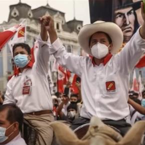 El candidato presidencial de Perú Pedro Castillo fue miembro del partido del ex presidente Toledo, tiene a Cerrón y su entorno corrupto,terrorista y admirador de regímenes como Venezuela yCuba