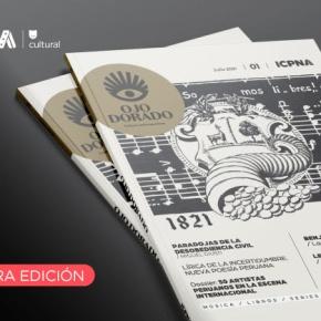 """Lanzamiento virtual de """"Ojo Dorado"""" la nueva revista del ICPNA cultural en formato físico y de publicaciónsemestral"""