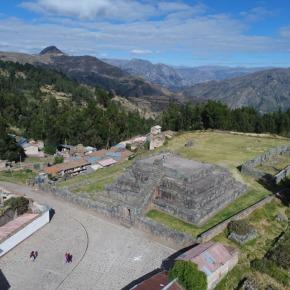 Registros Públicos del Perú inscribió cuatro sectores por más de 4 hectáreas del complejo arqueológico de Vilcashuamán enAyacucho