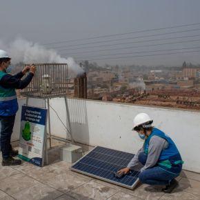 Calidad del aire afectada en Huachipa por actividad industrial que incumple valores establecidos en la normativa peruana: Supera concentración de partículas finas y gruesas según monitoreo que realizóMML