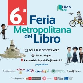 Feria Lima Lee en el Parque de la Exposición: Personas que presenten cartilla de vacunación contra COVID-19 tendrán 10% de descuento enlibros
