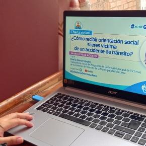 "Programa de Defensa Municipal de Víctimas de Accidentes de Tránsito ofrecerán charla virtual ""¿Cómo recibir orientación social si eres víctima de un accidente detránsito?"