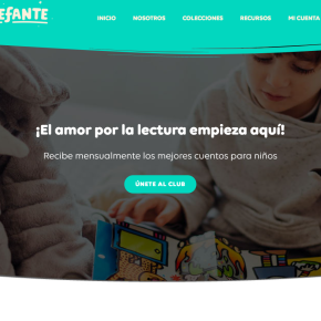 Club de cuentos infantiles de Leefante comprometido con desarrollar el hábito de lalectura