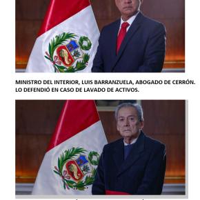 En Perú nuevo gabinete de ministros presidido por Mirtha Vásquez tiene al abogado de Cerrón de titular en el Ministerio del Interior y en Educación a militante de izquierda extrema, además de los ya conocidos continuando con objetivo cambio de Constitución política delEstado
